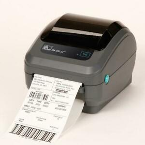 NEW Zebra GK420 direct thermal printer- ethernet Work Labels / Stickers