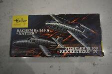 "Heller 1/72 Bachem Ba 349A ""Natter"" & Fieseler FI ""Reichenberg""103 IV Kit No 071"
