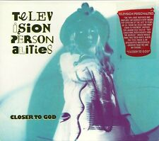 Original 2003 19 Track CD TELEVISION PERSONALITIES  Closer To God  MINT / SEALED