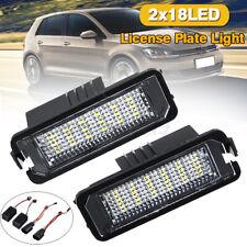 18 LED Number License Plate Light For VW Golf MK4 MK5 Scirocco EOS Passat Polo