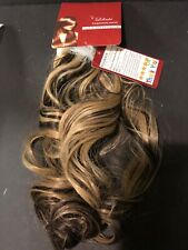 Lelinta Hair Extensions 18M Ponytail Curly Blonde Light Brown Mixture 4AH24