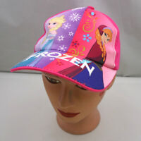 Disney Frozen Hat Pink Kids Stitched Adjustable Baseball Cap Pre-Owned ST218