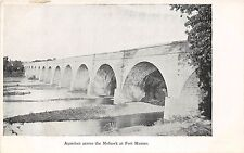 New York NY Postcard c910 FORT HUNTER Mohawk River Canal Aquaduct