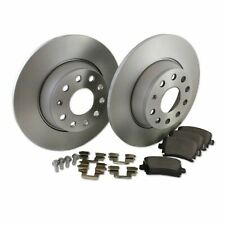 Hella Pagid Rear Brake Kit 282mm DPK072 fits VW GOLF MK VI 5K1 2.0 GTi 1.4 TSI