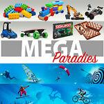 Mega-Sport und Spiele-Paradies