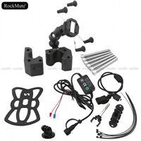 GPS/Mobile Phone Holder Handlebar Riser Mount For Kawasaki ZG1400 GTR1400 08-18