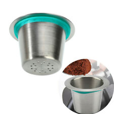 Stainless Steel Refillable Reusable Coffee Capsule Pod For Nespresso Machine New
