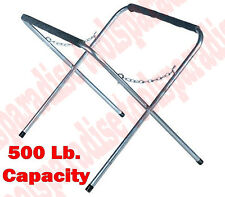 AUTO BODY SHOP Portable Folding Work Stand Fender Hood Bumper Paded Holder