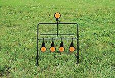NEW .22 Rimfire Resetting Steel Shooting Gallery Pistol & Rifle Spinning Target