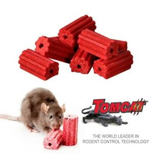 TOMCAT II BLOX 1.8kg Mouse Bait Rat Poison FAST ACTING  Brodifacoum Rodenticide