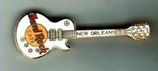 New Orleans Hrc White Gibson Les Paul Guitar Pin