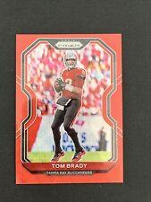 Tom Brady 2020 Red Wave Refractor Prizm 105/149 Tampa Bay Bucs Buccaneers