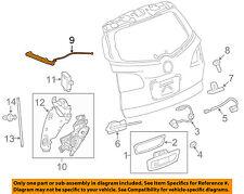 Chevrolet GM OEM 09-17 Traverse Liftgate Tail Tailgate Trunk-Sensor 23297367