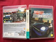 PS3 湾岸 ミッドナイト WANGAN MIDNIGHT 2007 Genki racing game FREE POSTAGE