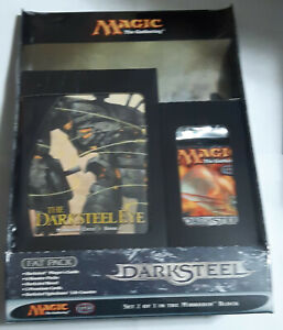 Magic the Gathering DARKSTEEL Bundle Fat Pack NEW SEALED