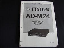 Original Service Manual Fisher AD-M24