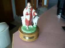 Jesus with sheep musical box plays what a friend we have in Jesus