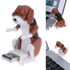 Funny Cute pet USB Humping Spot Dog Toy Stress Relieving Gift Office Relax Toy