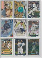 Felix Hernandez (9 card lot) BASEBALL CARDS Seattle Mariners Superstar Pitcher