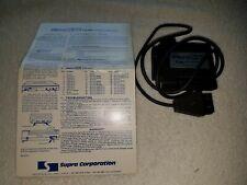 Supra Corporation Micro Print MicroPrint Atari Printer Cable Interface