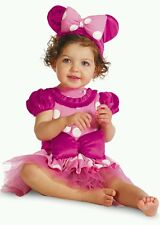 Disney Baby Minnie Mouse Boutique Clubhouse Costume 12-18M Halloween