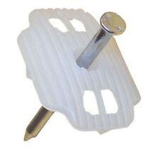 Nagelscheibe 27x34mm mit Nagel 3 3x50mm Kunststoffscheibe Art 995233