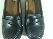 NATURAL SOUL BY NATURALIZER WOMEN'S BLACK FLAT SHOES SIZE 6M SLIP-ON MSRP $69.00
