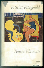 FITZGERALD FRANCIS SCOTT TENERA E' LA NOTTE EINAUDI 1957 I° EDIZ FERNANDA PIVANO