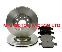 Saab 93 9-3 1.8, 1.9, 2.0 & 2.2| 2002 on Vented Front Brake Discs & Pads