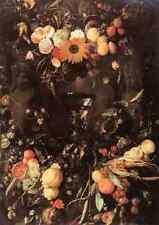 Heem Jan Davidsz De de flores y frutas Bodegón A4 impresión