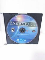 Everspace (Sony PlayStation 4, 2018) DISC ONLY Tested & Working Fast Shipping