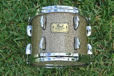 "Pearl Masters Studio 10"" Golden Bronze Glitter Tom for Your Drum Set! Lot #E541"