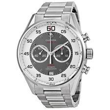 Tag Heuer Carrera 36 Flyback Chronograph Grey Dial Mens Watch CAR2B11.BA0799