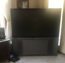 """Hitachi 50"""" Rear Projection Tv - Works Well - Great Picture"""