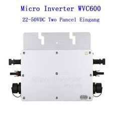 600W MPPT Wasserdicht Grid Tie Inverter DC22–50V auf AC 230V für 36V Solar Panel