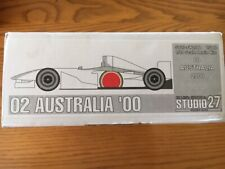 Studio 27 1/20 BAR 002 Australia GP '00 (FK2088) Villeneuve