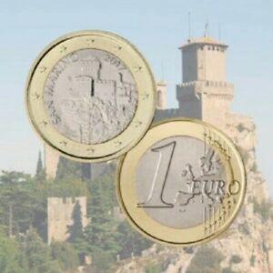 """1 Euro Saint Marin 2017 Pièce annuelle de Circulation """"La Cesta"""" PROMO MAI!!!!!"""