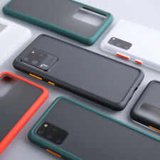 Matte Shockproof Case for Samsung Galaxy A10E A20/30 S20 PLUS  Ultra S9 S8 PLUS