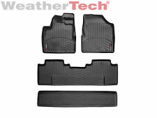 WeatherTech Floor Mats FloorLiner - Honda Ridgeline - 2006-2014 - Black