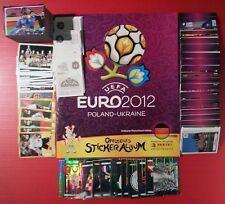 PANINI EURO 2012 ALBUM + TUTTE LE FIGURINE DA ATTACCARE VER. TEDESCA