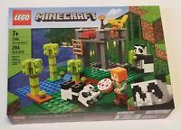 LEGO 21158 Minecraft The Panda Nursery 204pcs NEW Sealed! Ages 7+ Creative Play