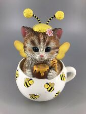 Hamilton Collection-Cups Of Affection-Sweet As Honey Kitty Cat. 15I