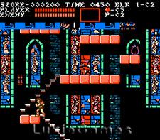 Castlevania III 3 Dracula's Curse - NES Nintendo Game