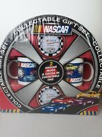 NASCAR 2004 Wheel Collectable Gift Set With 2 Mugs And Tins - NIP