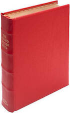 REB Lectern Bible, Red Imitation Leather Over Boards RE932:TB: Revised English