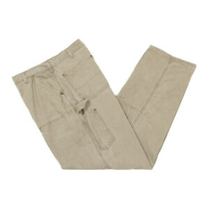 CARHARTT Double Knee Canvas Trousers | 36 x 34 | Utility Work Carpenter Front