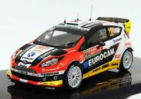 Ixo 1/43 Scale RAM570 - Ford Fiesta RS WRC - #22 Monte Carlo 2014