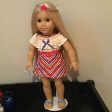Doll American Girl Julie tagged outfit