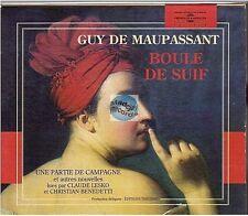 CD AUDIOBOOK boule de suif GUY DE MAUPASSANT (4376) claude lesko