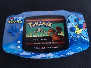 Gameboy Advance Español - Pokemon Rojo Fuego - Cartucho Modificado + Caja